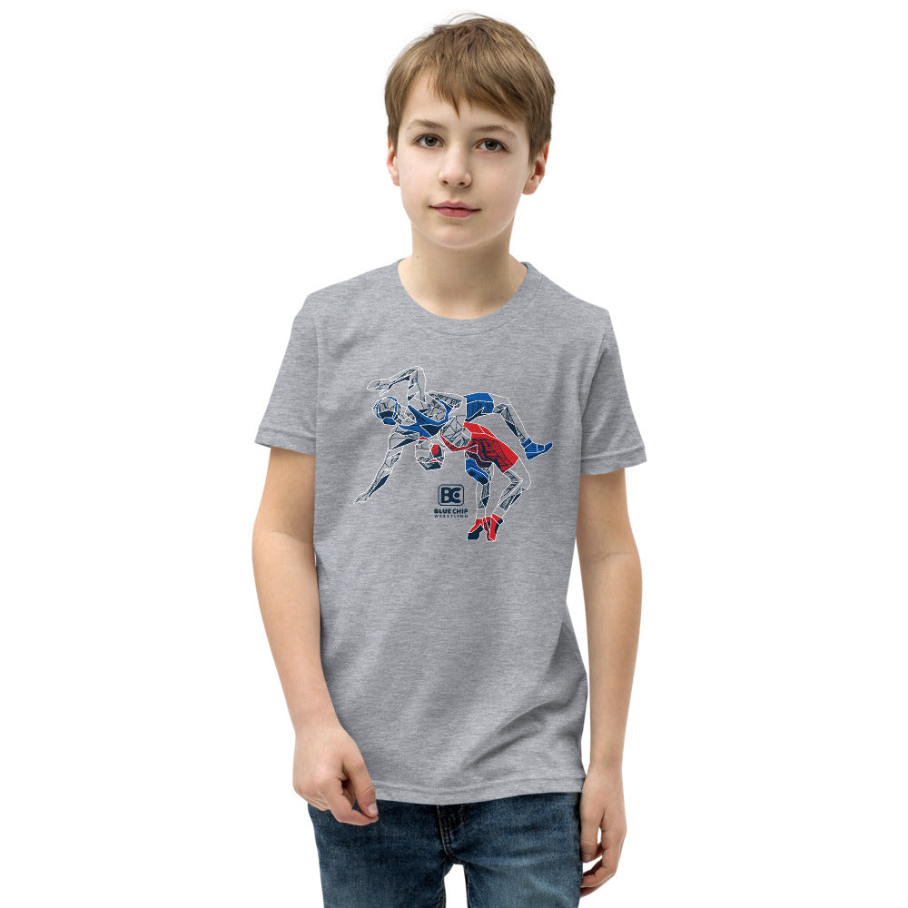 Icon USA Youth Premium Wrestling T-Shirt