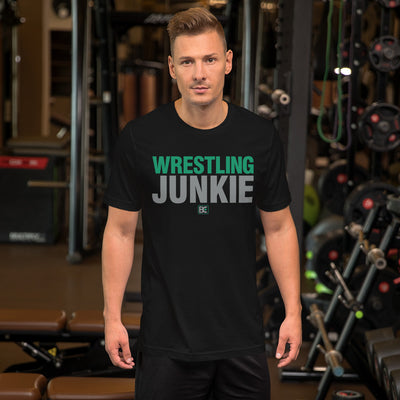 Wrestling Junkie Customizable Premium Wrestling T-Shirt