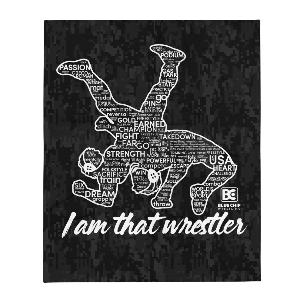 I'm that Wrestler Throw Blanket