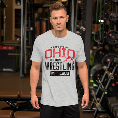 Property of Ohio Premium Wrestling T-Shirt