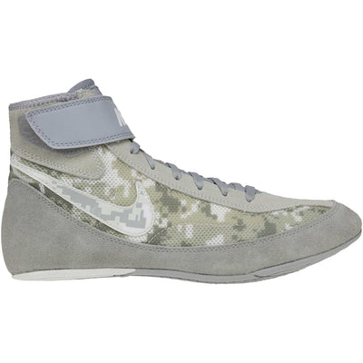 Nike Youth Speedsweep VII Wrestling Shoes (Grey Camo)