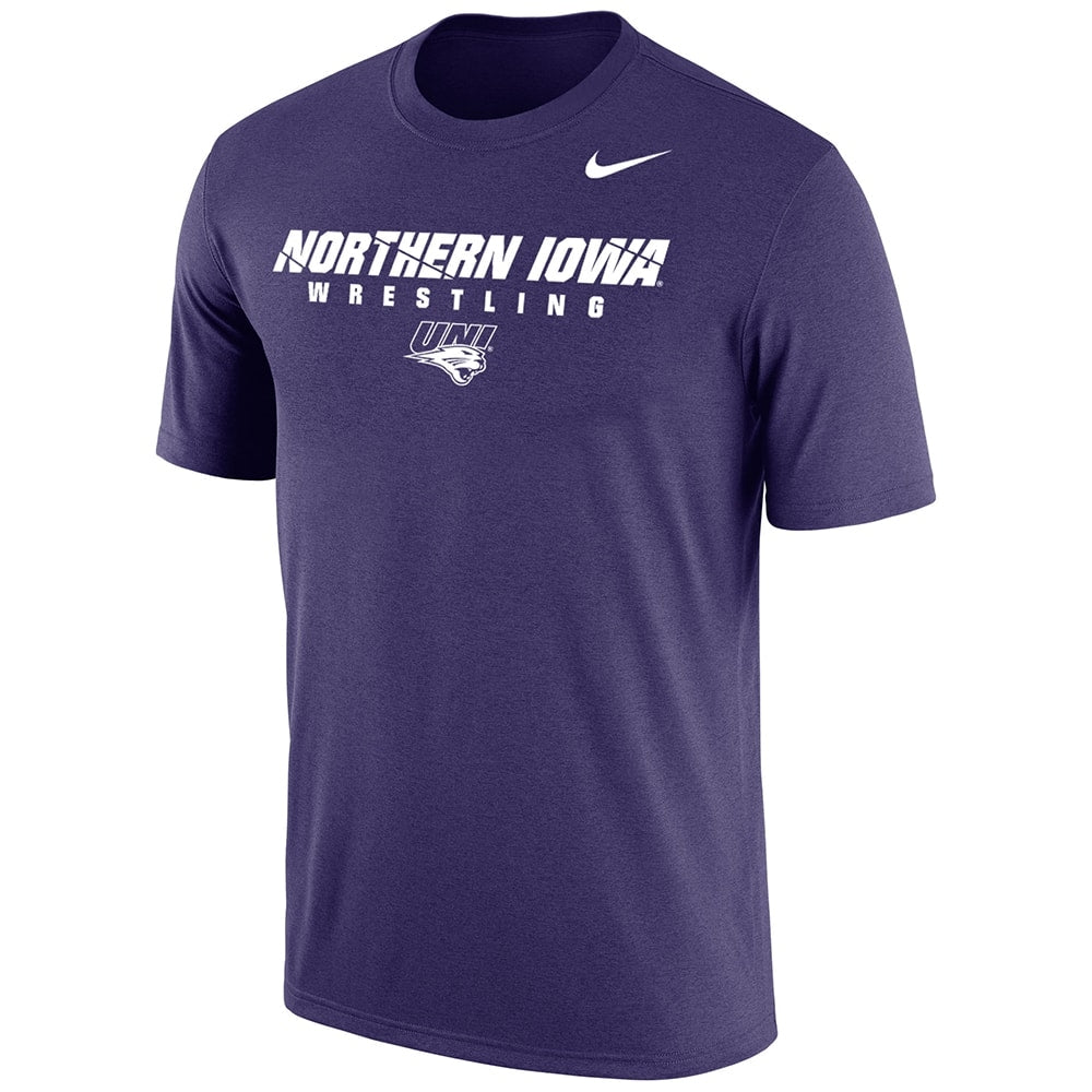 Northern Iowa Panthers Wrestling Nike Dri-Fit Cotton Tee