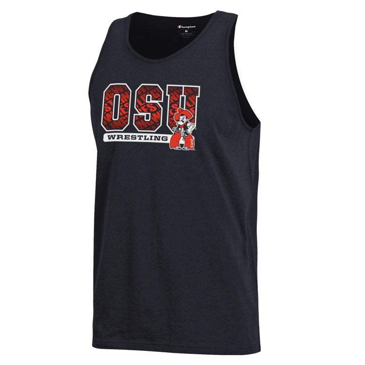 Oklahoma State Cowboys Wrestling Tank Top