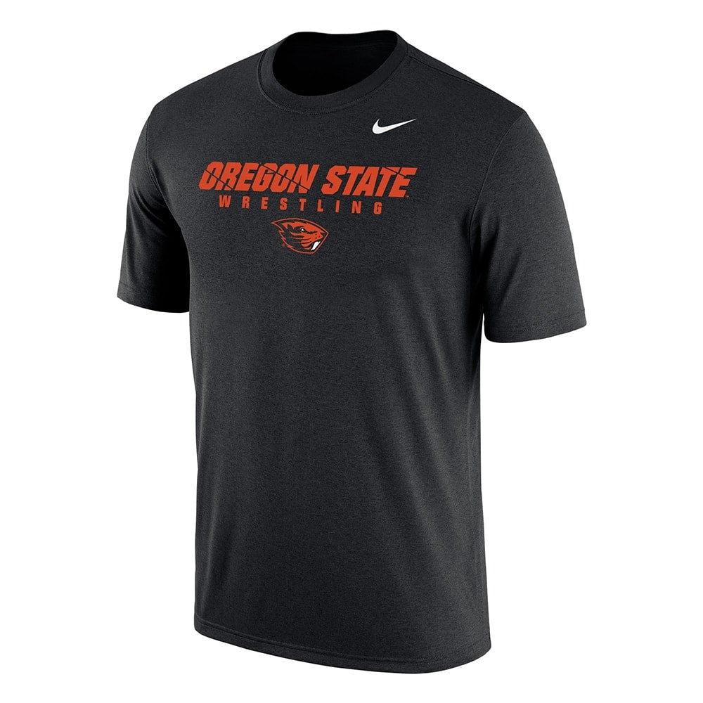 Oregon State Nike Wrestling Dri-Fit Cotton Tee