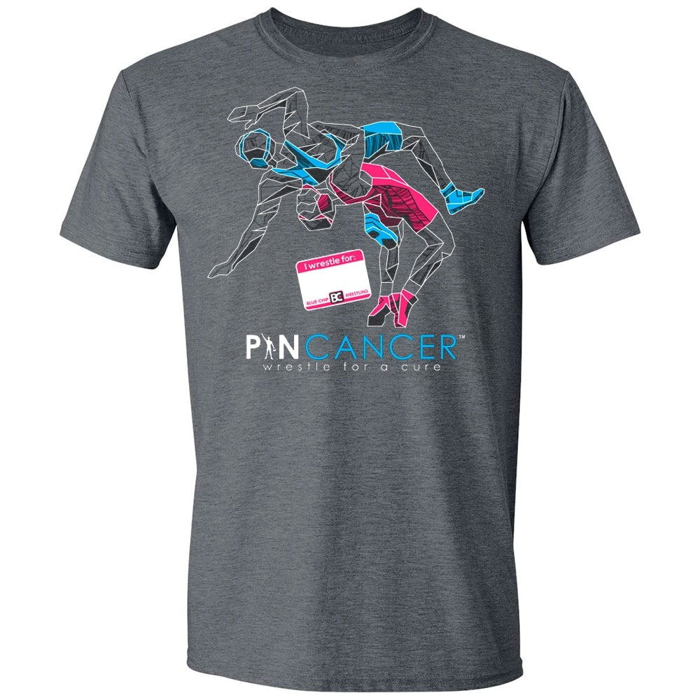 Pin Cancer I Wrestle For T-Shirt