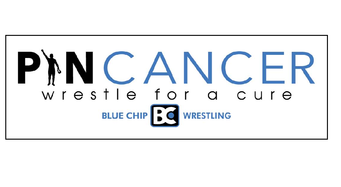 Pin Cancer Wrestling Bumper Sticker