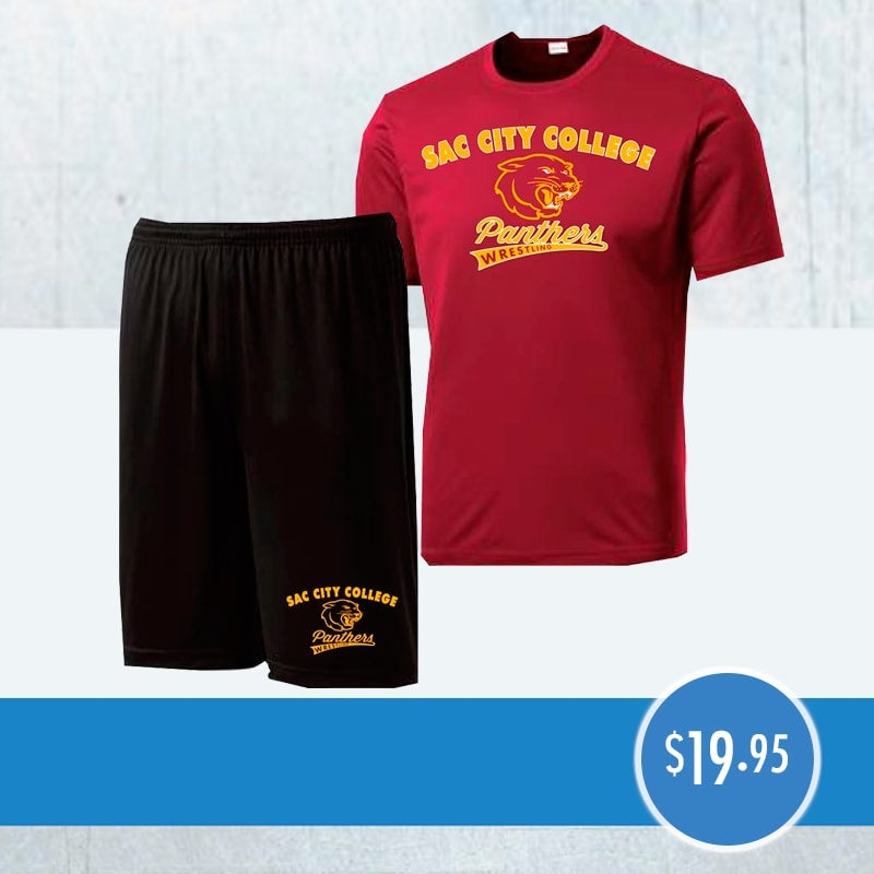 Performance T-Shirt Short Combo