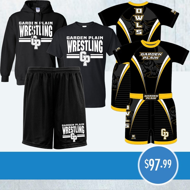 BC Sublimated Compression Shirt, BC Wrestling Short, T-Shirt, Short, Hoodie