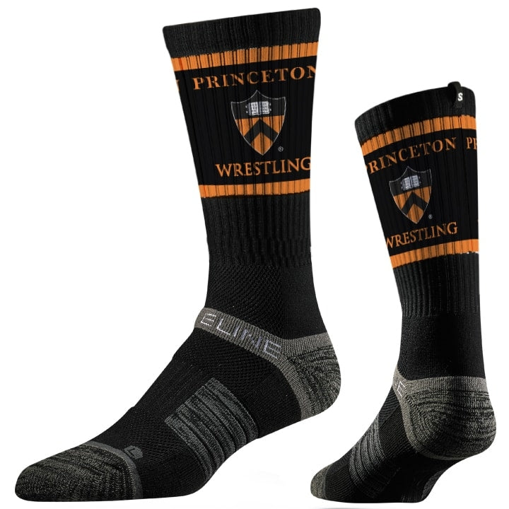 Princeton Tigers Wrestling Performance Socks