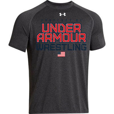 Property of Under Armour Wrestling Locker T