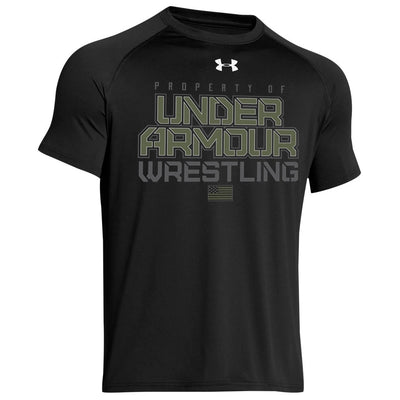 Property of Under Armour Wrestling Special Ops Locker T