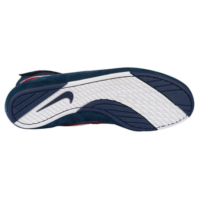 Nike Youth Speedsweep VII Wrestling Shoes (Navy / White / Uni Red)