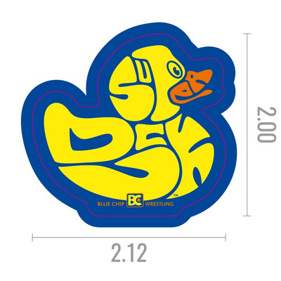 Superduck Die Cut Sticker