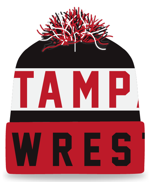 Tampa Bay Wrestling Knit In Beanie
