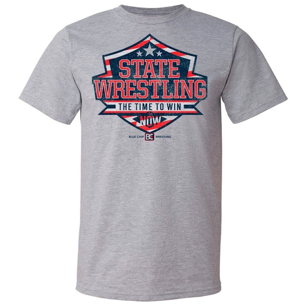 State Championship Time To Win Wrestling T-Shirt