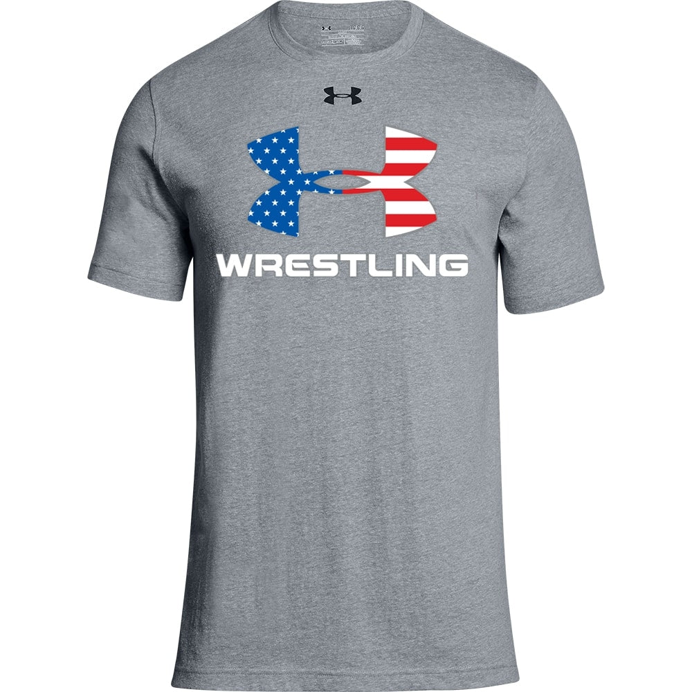 Under Armour Wrestling Flag Stadium Tee