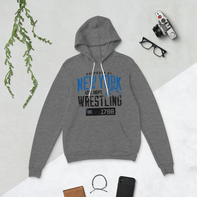 Property Of New York Wrestling Pullover Hoodie