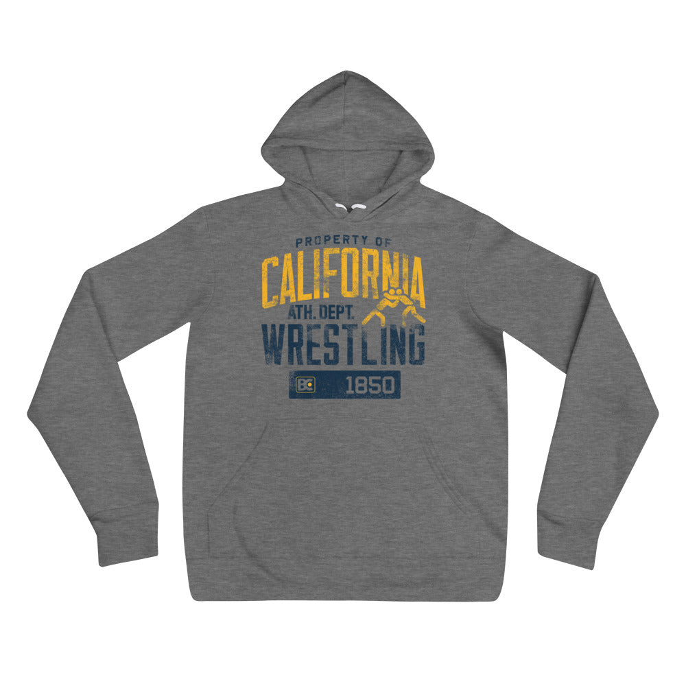 Property Of California Wrestling Pullover Hoodie