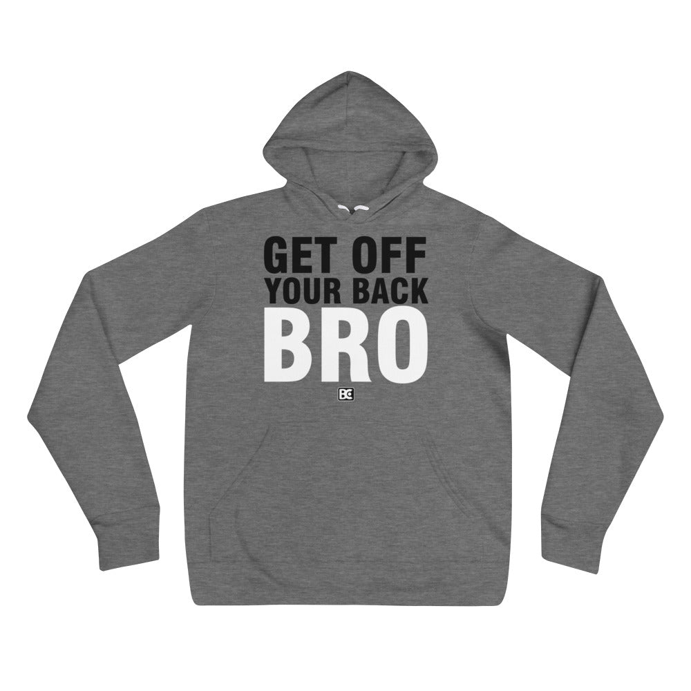Get Off Your Back Wrestling Pullover Hoodie