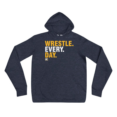 Wrestle Every Day Wrestling Pullover Hoodie