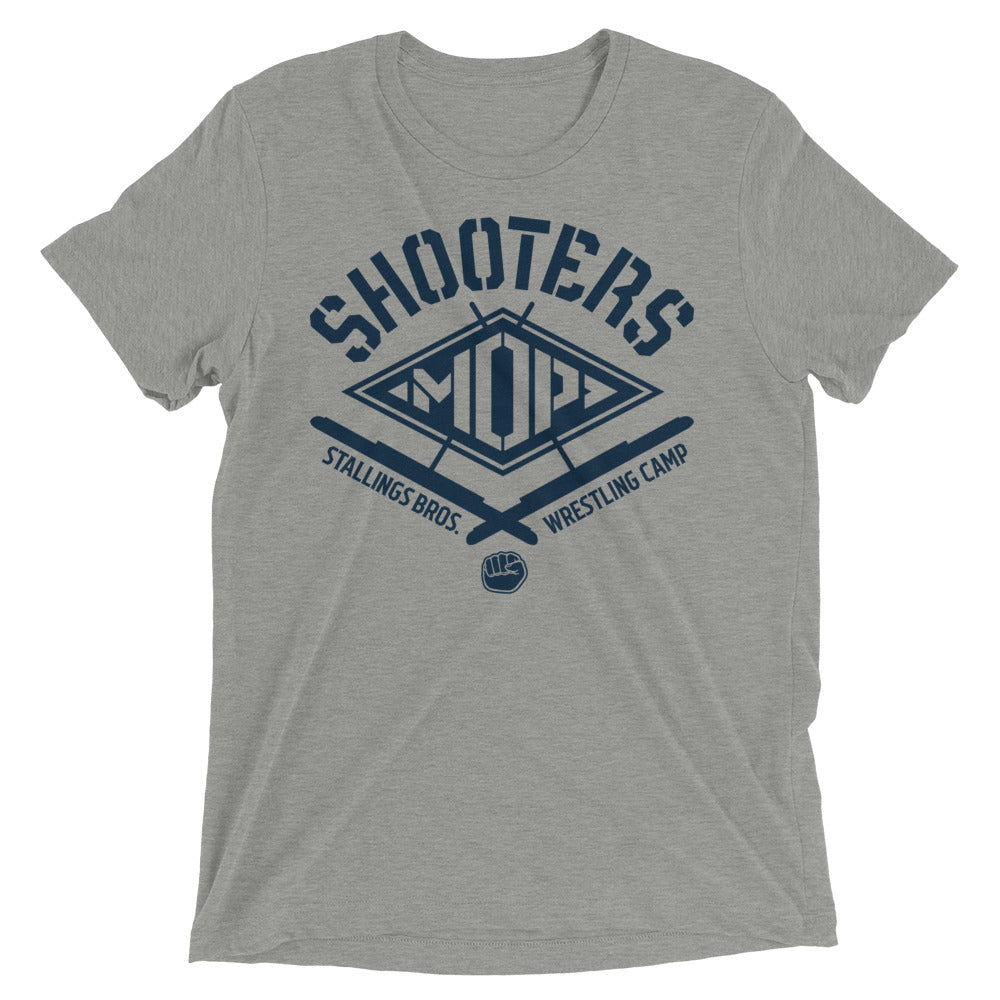 Shooters Mop Triblend Wrestling T-Shirt