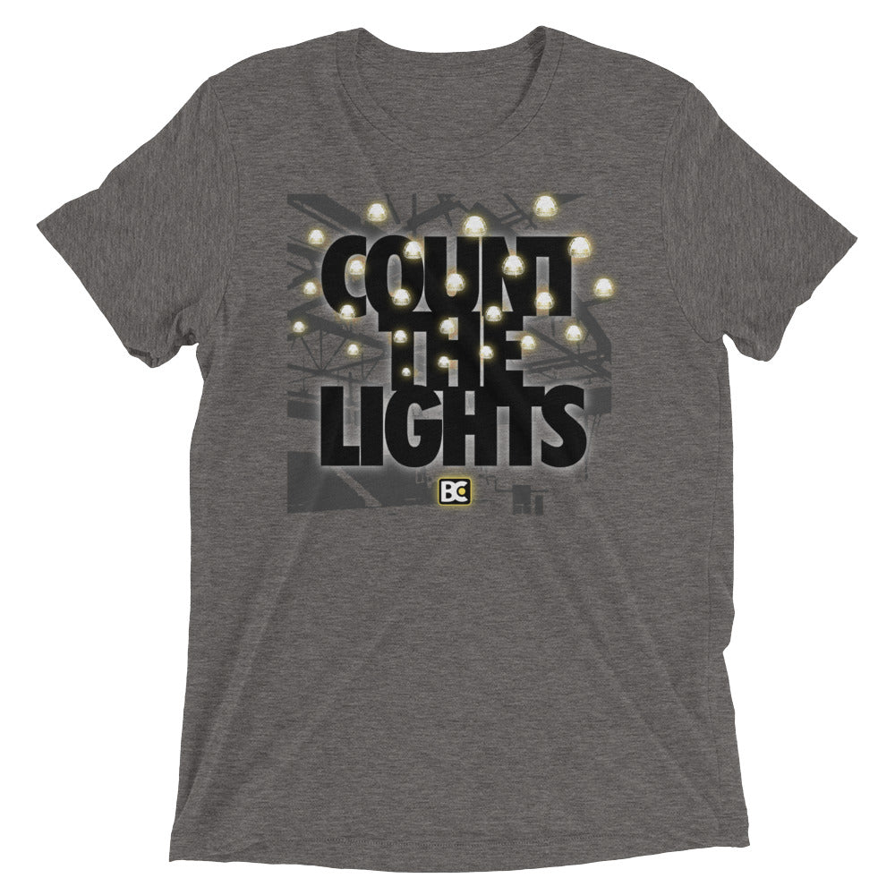 Count the Lights Triblend Wrestling T-Shirt