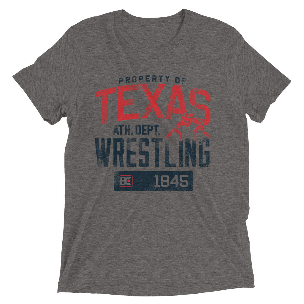 Property Of Texas Triblend Wrestling T-Shirt
