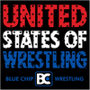 United States of Wrestling Bumper Sticker