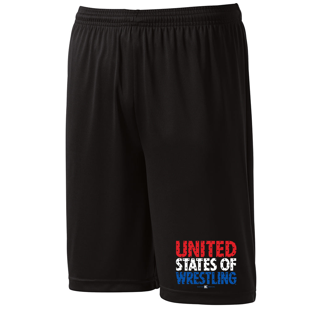 United States of Wrestling Performance Shorts