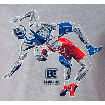 Blue Chip Wrestling Icon T-Shirt (USA)