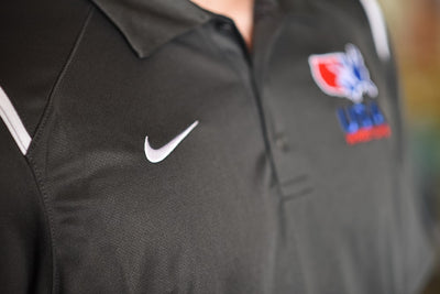 Nike USA Wrestling Game Day Polo (Anthracite)