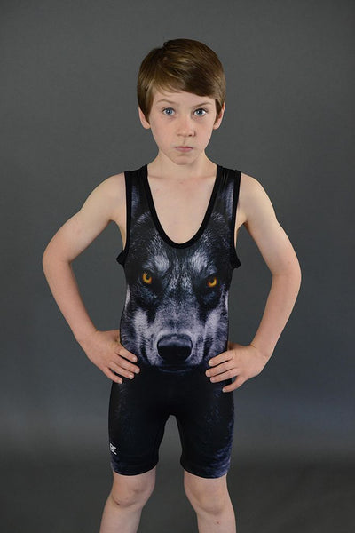 Made 4 U Battlewulf Wrestling Singlet