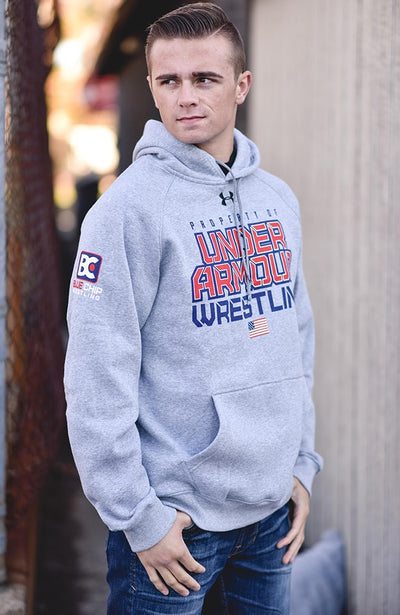 Property of Under Armour Rival Wrestling Hoodie