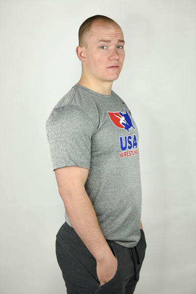 Nike USA Wrestling Legend Tee (Grey)