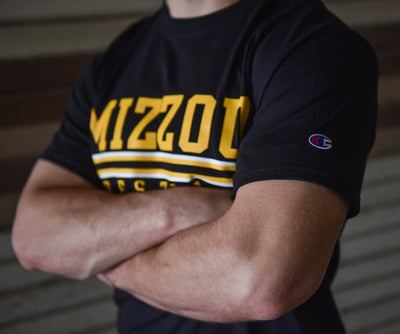 Missouri Tigers Wrestling Champion Short Sleeve Tee