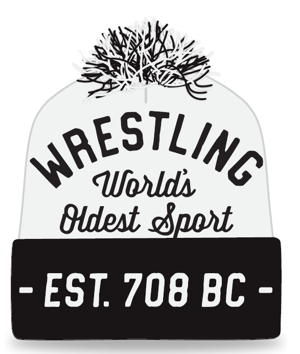 Wrestling - World's Oldest Sport Knit In Beanie