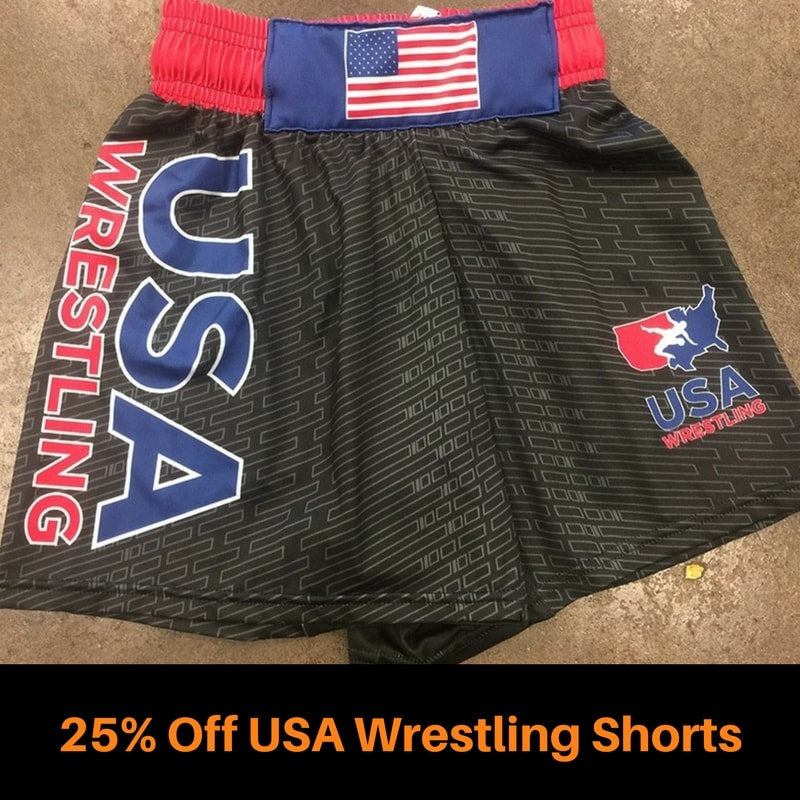 USA Wrestling Shorts