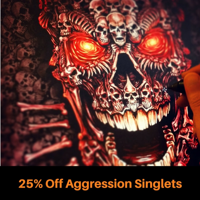 Aggression Wrestilng Singlets