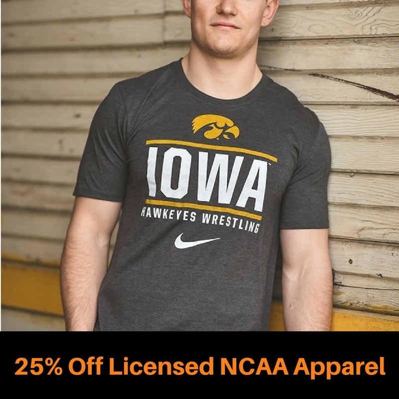 Officially Licensed NCAA Apparel
