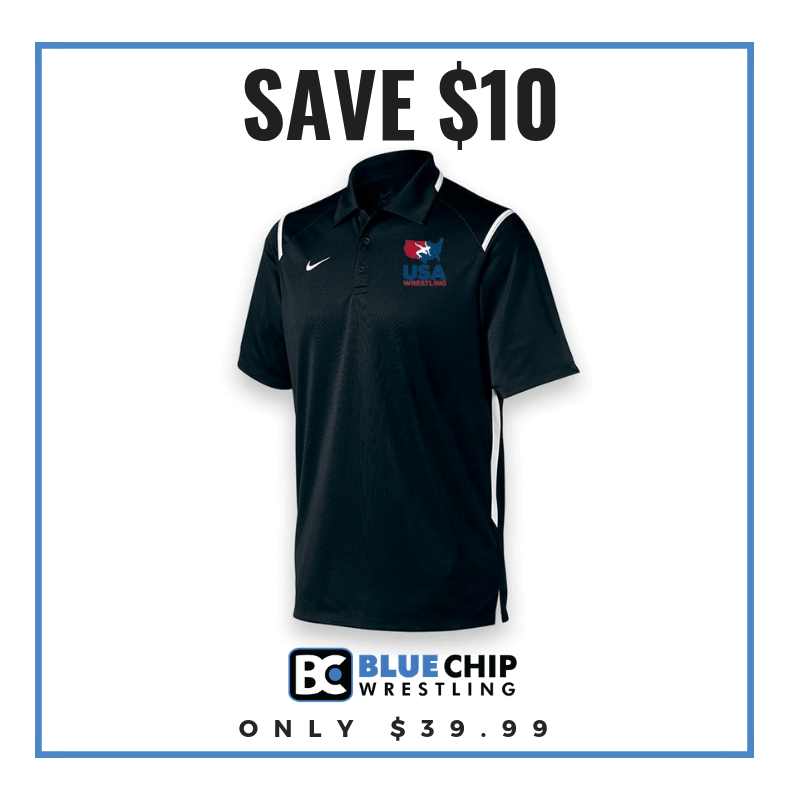 USA Wrestling Game Day Polo