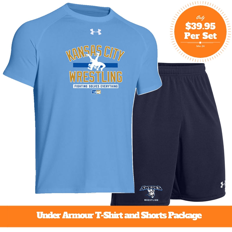 Under Armour Shirt Short Package