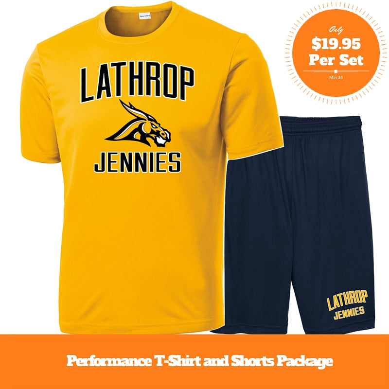 Performance Shirt Short Package