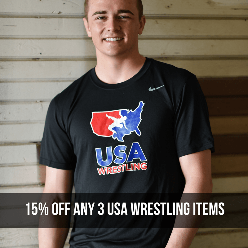Save on USA Wrestling Apparel