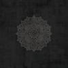 TOALLA DE MANOS PARA YOGA YOGA DESIGN LAB - MANDALA BLACK - FLOW YOGA