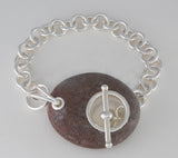 Beaches Sterling Silver Toggle Bracelet