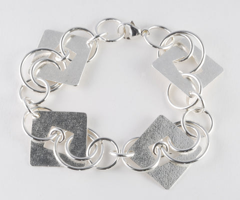 Circles and Squares Bracelet