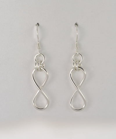 Infinity Hook Earrings