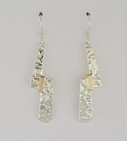 Offset Fusion 2 Tone Earrings