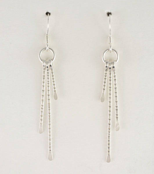 Rays Short Bars Earrings