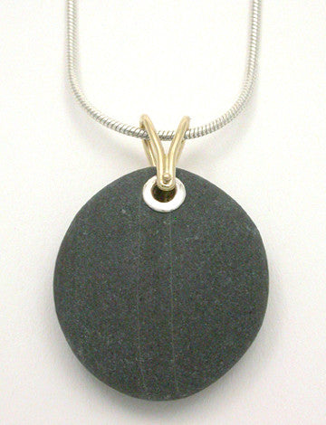 Beaches 2 Tone Pendant